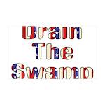 Drain The Swamp 38.5 x 24.5 Wall Peel