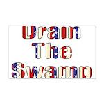 Drain The Swamp 22x14 Wall Peel