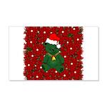 Christmas Bear 22x14 Wall Peel