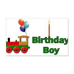 Birthday Boy 22x14 Wall Peel