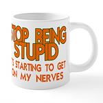 Getting On My Nerves 20 oz Ceramic Mega Mug