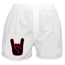 Heavy Metal Horns Boxer Shorts