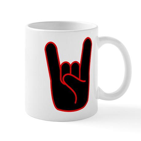 Heavy Metal Horns Mug