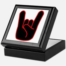 Heavy Metal Horns Keepsake Box