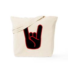 Heavy Metal Horns Tote Bag