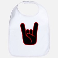 Heavy Metal Horns Bib