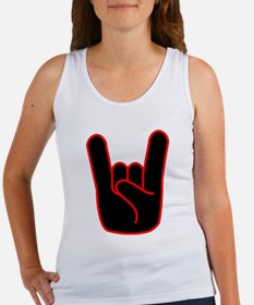 Heavy Metal Horns Women's Tank Top