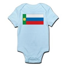 Khakassia Flag Infant Bodysuit