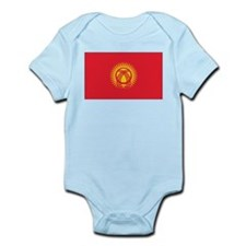 Kyrgyzstan Flag Infant Bodysuit