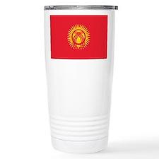Kyrgyzstan Flag Travel Mug