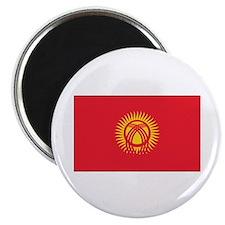 Kyrgyzstan Flag Magnet