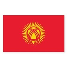 Kyrgyzstan Flag Decal