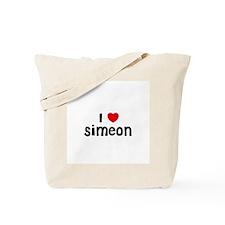 I * Simeon Tote Bag