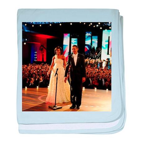 Barack Obama Inauguration baby blanket