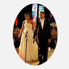 Barack Obama Inauguration Ornament (Oval)