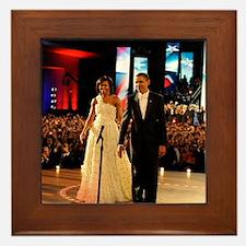 Barack Obama Inauguration Framed Tile