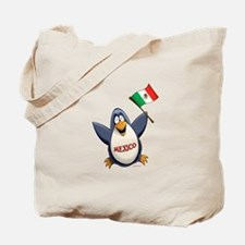 Mexico Penguin Tote Bag