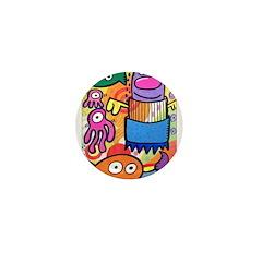 Poptoon #2 Mini Button (10 pack)