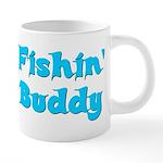 fishinbuddy.png 20 oz Ceramic Mega Mug