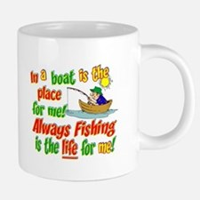 always fishing.png 20 oz Ceramic Mega Mug