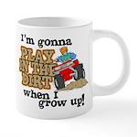 Play In The Dirt 20 oz Ceramic Mega Mug