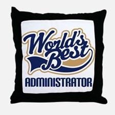 Administrator Throw Pillow