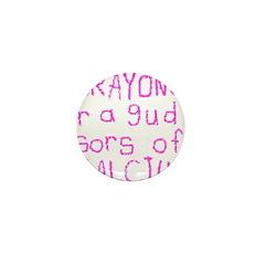 Crayons Mini Button