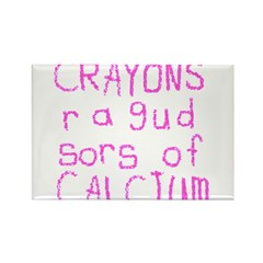 Crayons Rectangle Magnet (100 pack)