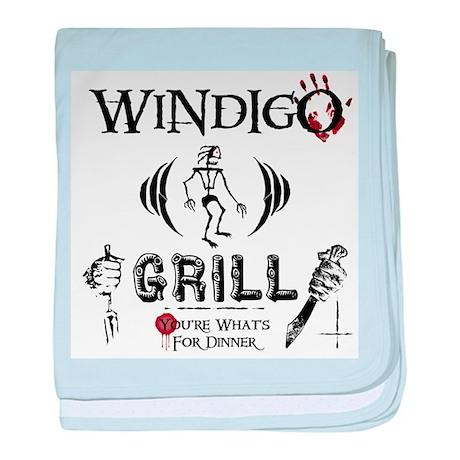 Wendigo or Windigo Grill baby blanket