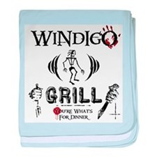 Wendigo or Windigo Grill baby blanket