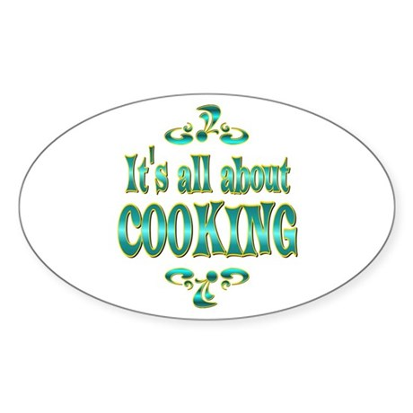 About Cooking Sticker (Oval)