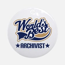 Archivist Ornament (Round)