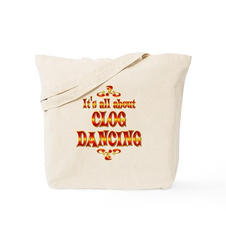 About Clog Dancing Tote Bag