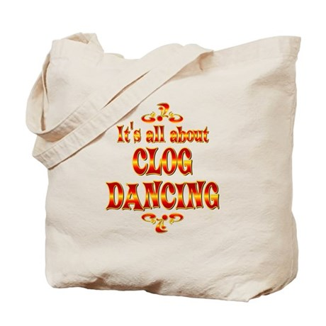 About Clog Dancing Tote Bag