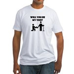 Will You Be My Vice? Fitted T-Shirt