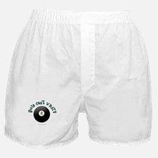 Billiards Eight Ball Boxer Shorts