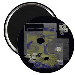 Floppy Disk Geek Magnet