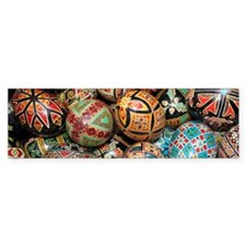 Pysanky Group 3 Bumper Sticker