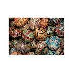 Pysanky Group 3 Rectangle Magnet (10 pack)