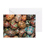 Pysanky Group 3 Greeting Cards (Pk of 10)