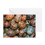 Pysanky Group 3 Greeting Card