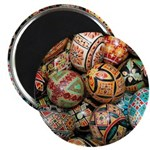 "Pysanky Group 3 2.25"" Magnet (10 pack)"