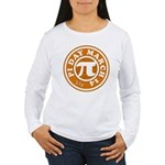 Happy Pi Day 3/14 Circular De Women's Long Sleeve