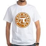 Happy Pi Day 3/14 Circular De White T-Shirt
