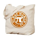 Happy Pi Day 3/14 Circular De Tote Bag