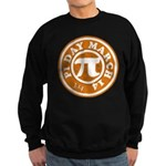 Happy Pi Day 3/14 Circular De Sweatshirt (dark)