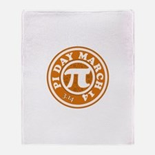 Happy Pi Day 3/14 Circular De Throw Blanket