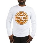 Happy Pi Day 3/14 Circular De Long Sleeve T-Shirt