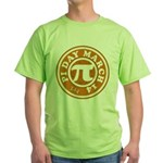 Happy Pi Day 3/14 Circular De Green T-Shirt