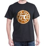 Happy Pi Day 3/14 Circular De Dark T-Shirt
